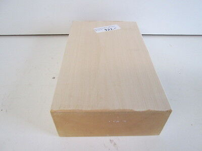 Huge Basswood Wood Carving Block Turning Blank (3'' x 7'' x 12'')
