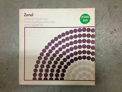 ZONAL 845 Professional Magnetic Tape NEW ^