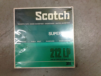 Scotch 212LP Professional Magnetic Tape NEW ^