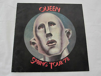 Queen  :  1978 NEWS OF THE WORLD Spring Tour EUROPEAN UK CONCERT PROGRAMME