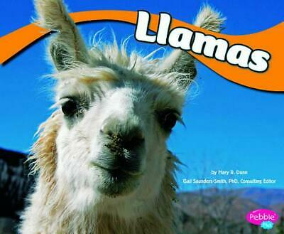Llamas by Mary R. Dunn (English) Library Binding Book Free Shipping!