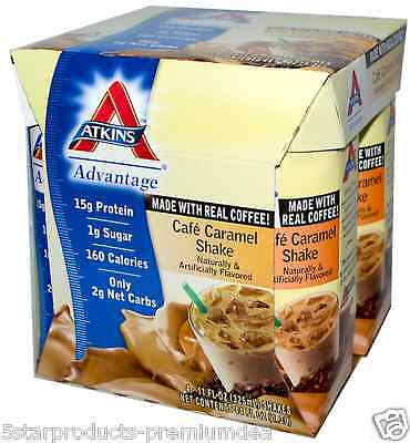 New Atkins Cafe Caramel Shake Helps Maintain Optimal Weight Healthy Nutrition