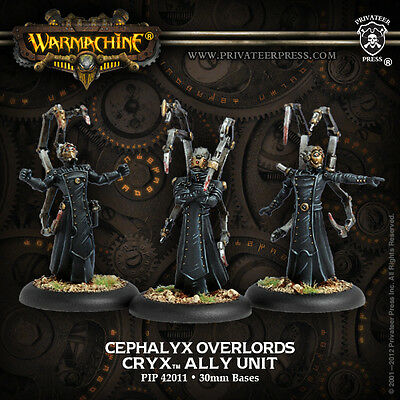 Warmachine: Cryx Cephalyx Overlords Ally Unit PIP 42011