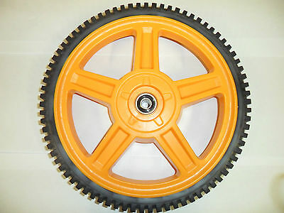 McCulloch Lawnmower Back Wheel for M51, M53, M56, MWT, M22, 29081, 290810  (J56)