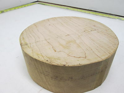 Curly Maple Bowl Turning Blank (3'' x 8'')