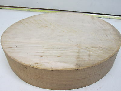 Curly Maple Bowl Turning Blank (2'' x 11 1/4'')