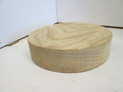 "Hackberry Wood Bowl Turning Blank (8"" diameter x 2"" thick)"