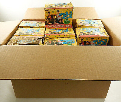 Lot of (27) 1989 Topps New Kids On The Block 24-Ct Trading Card Boxes ^ Damaged