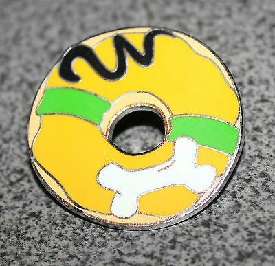 Disney Pin Pluto Donuts Mystery Mickey Mouse And Friends With White Bone Donut