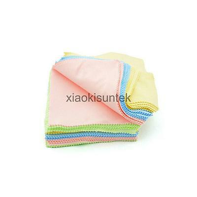 100pcs Microfiber Cleaner Camera Lens Glasses Cleaning Cloth Duster Polisher