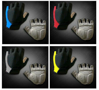 New Fashion Cycling Bike Bicycle GEL Shockproof Sports Half Finger Glove M/L/XL