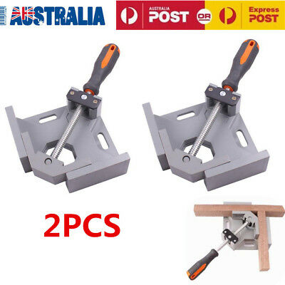2PCS Fit Tools Corner Clamp For Wood Metal Right Angle 90 Degree Weld Welding