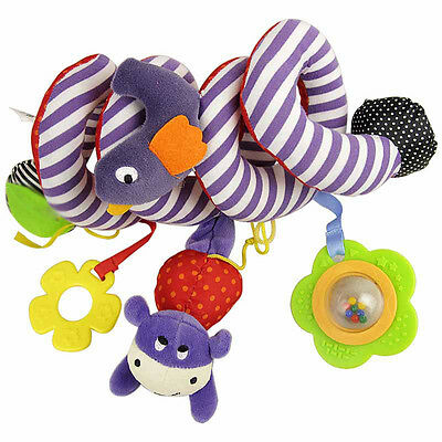 Cute Baby Toy Newborn Rattles Stroller Bed Hanging Educational Plush Toys