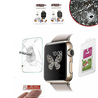 TEMPERED GLASS for Apple Watch 42mm 9H Bulletproof Display Protection Sheet