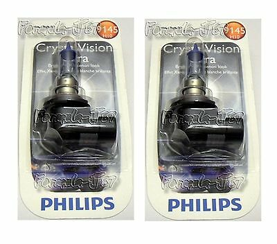 Philips Crystal Vision Ultra H10 9145 45W Two Bulb High Quality Fog Light Lamp K