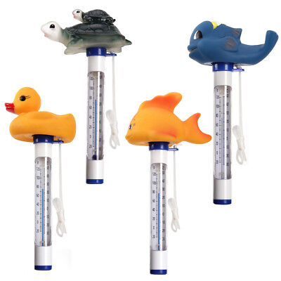 New Animal Swimming Pool Spa Floating Thermometer Water Tub ℃ ℉ Temperature
