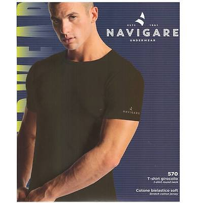 3 T-Shirt Navigare Girocollo Mm Art. 570 In Cotone Bielastico Soft Tg. 3-4-5-6-7