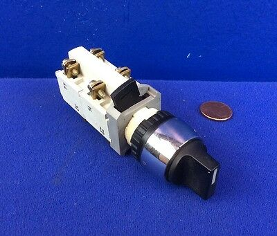RAFI 1.20115 SELECTOR SWITCH 22mm 2-POSITION MAINTAINED