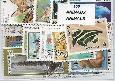 ANIMAUX 100 timbres différents