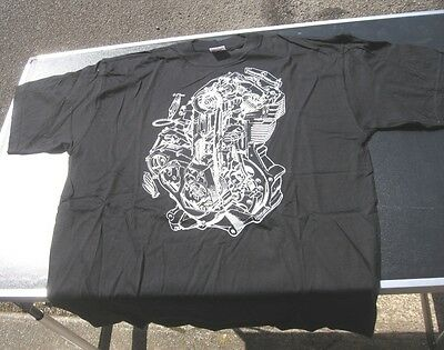 Tee Shirt Matchless Moteur G50 Taille Xl Recto Verso