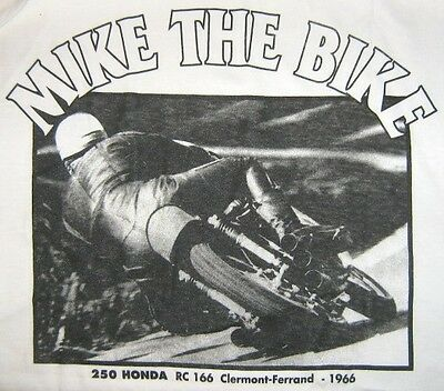Tee Shirt Mike The Bike  Taille M Recto Verso