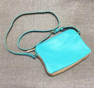 Marc by Marc Jacobs M0002435 Aqua Lagoon Multi Color Leather Crossbody Bag