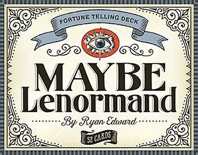 NEW Maybe Lenormand Cards Deck Ryan Edward