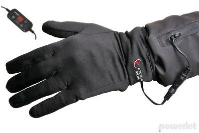 Atomic Skin Adult Black Heated Glove Liner w/ Heat Controller