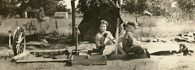 Antique Vintage Auto Children Doll Artistic Adult Fantasy Play Time Old Photo