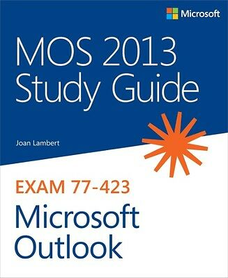 MOS 2013 Study Guide for Microsoft Outlook by Joan Lambert Paperback Book (Engli
