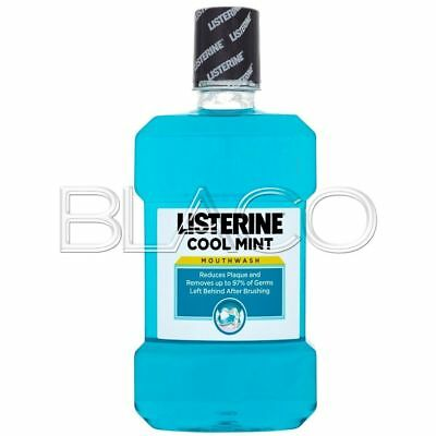 Listerine Colluttorio Cool Mint - 500Ml Igiene Dentale