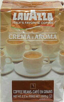 1kg./ 2,2lb., Lavazza Crema e Aroma, Coffee Beans, from ITALY, Superior Quality.