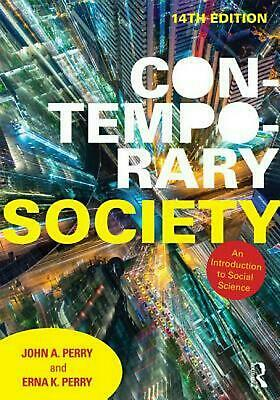 Contemporary Society: An Introduction to Social Science by John A. Perry (Englis
