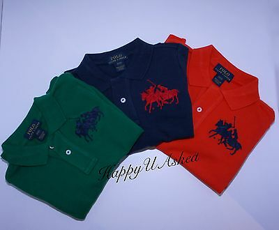 Genuine Polo Ralph Lauren Boys Long Sleeve Cotton Polo - Dual Match