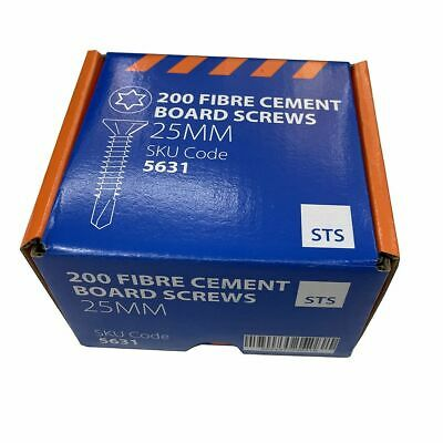 Tile Backer Board Screws 25mm Box of 200 No More Ply