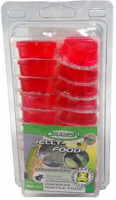 Dragon Jelly Food Fruchtnektar - Sorte: RED STRAWBERRY - Menge: 20 Stück