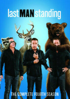 Last Man Standing: The Complete Fourth Season - 3 DISC  (2015, REGION 1 DVD New)
