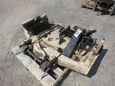 "60"" Woods F-35 Mid Mount Mower For John Deere 750 Compact Tractors, Brackets!!"