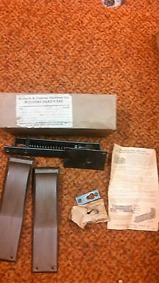 Shelby Chief Double Acting Floor Hinge New Old Stock Vintage Dull Black 2 14 2
