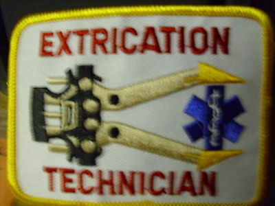 Extrication Technician 2 1/2 X 3 1/4   Patch