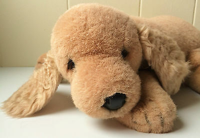 "Avanti 1984 Applause Jockline 16"" Cocker Spaniel Plush Puppy Dog Made In Italy"