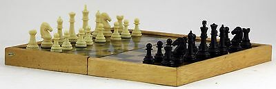 VINTAGE /OLD Magnetic travel chess and backgammon game
