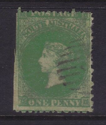 SA Sg 46,Sc# 28a; 1d Rouletted & Perf 11½-12½,VFU.***VERY RARE***