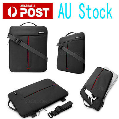 "POFOKO Shoulder carry bag pouch case For macbook Air Pro Retina 11.6 13"" 15"" 17"""