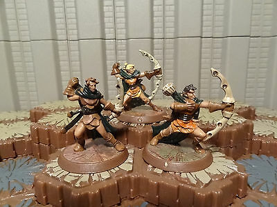 Aubrien Archers - Heroscape - Wave 4 - Zanafor's Discovery - Free Ship Available