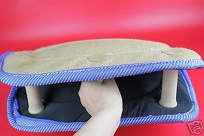 Dog Training 3 Handle Bite Wedge Strong Bite Sleeve Cushion Pillow Pet Toy 3Grip