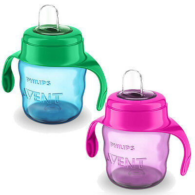 New Philips Avent Easy Sip Spout Toddler Cup 7oz - Choose of Two colours