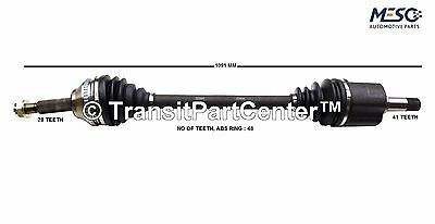 Drive Shaft Axle Ford Transit Mk7 2006-2014 2.2 6 Speed Rh Right Hand Off Side