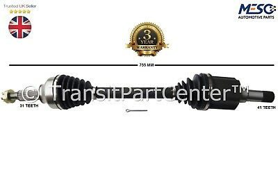 DRIVE SHAFT AXLE FOR FORD TRANSIT TOURNEO CONNECT 1.8 2006-2012 LEFT HAND SIDE