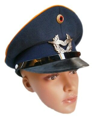 New German Air Force Officer's visor hat cap luftwaffe army military bundeswehr
